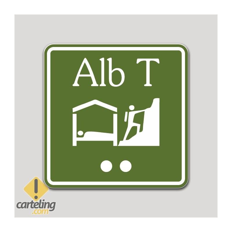 Placa distintivo Albergue turístico categoría superior - Asturias