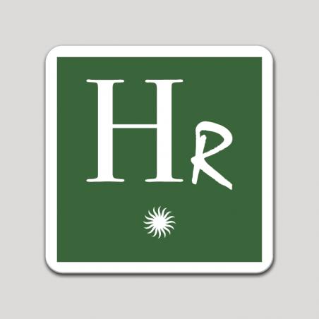 Placa distintivo Hotel rural una estrella - Asturias