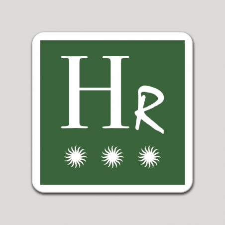 Placa distintivo Hotel rural tres estrellas - Asturias