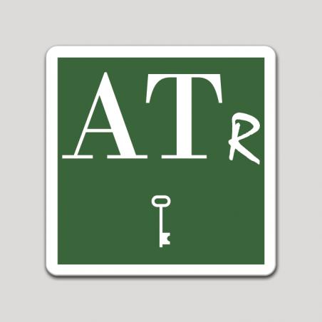 Placa distintivo Apartamento turístico rural una llave - Asturias