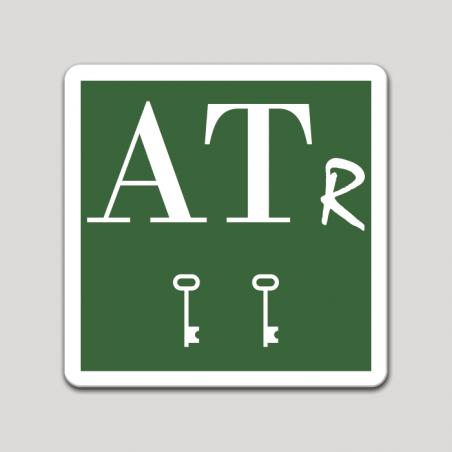 Placa distintivo Apartamento turístico rural dos llaves - Asturias