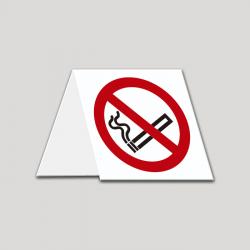 Prohibido Fumar - Cartel mesa PVC