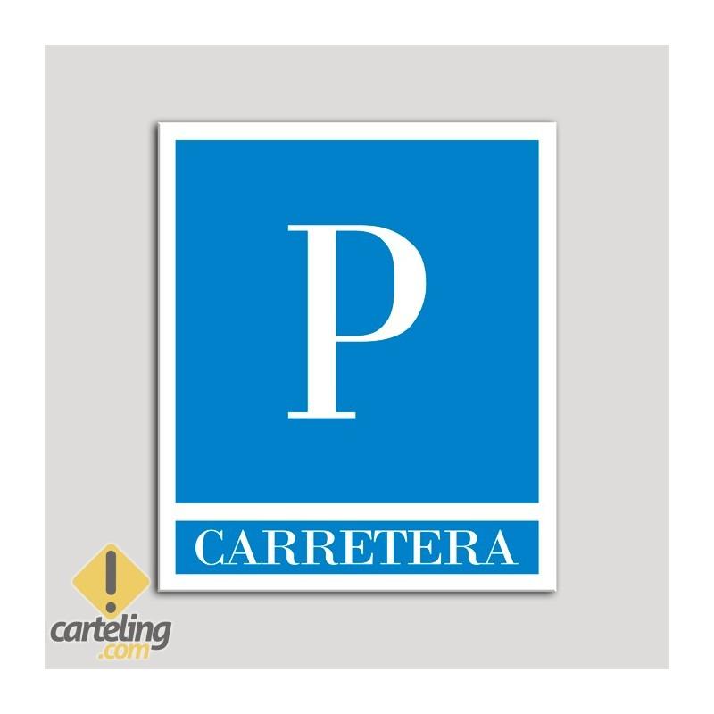Placa distintivo Pensiones - Carretera .Andalucía.