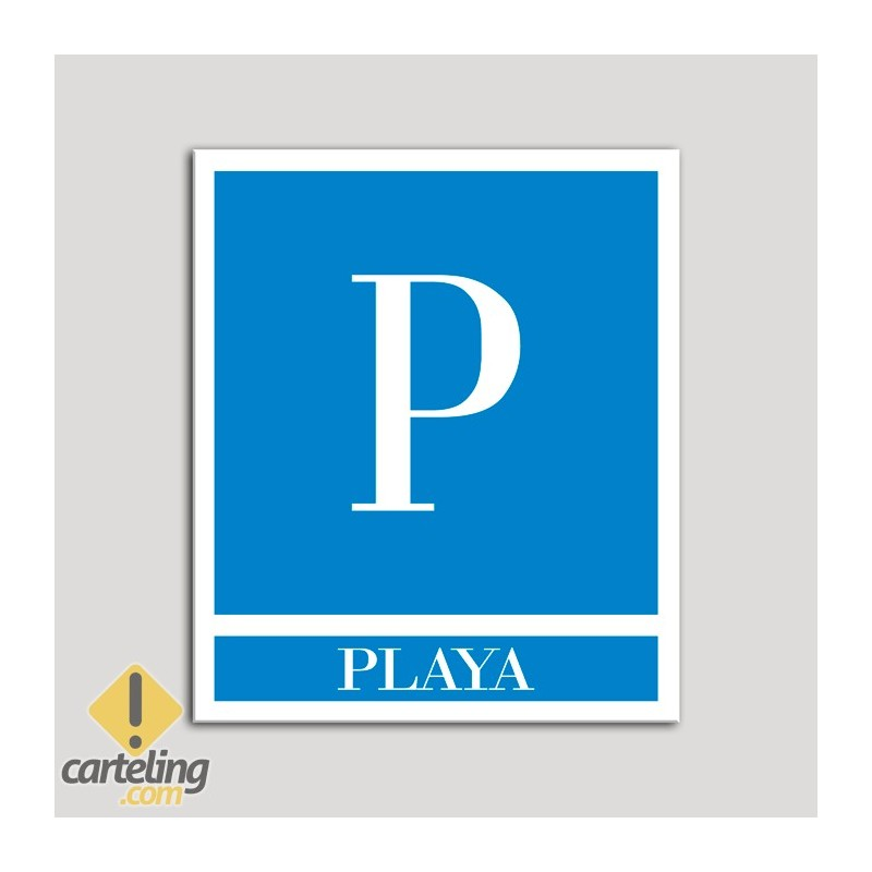 Placa distintivo Pensiones - Playa .Andalucía.