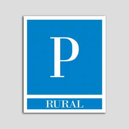 Placa distintivo Pensiones - Rural.Andalucía.