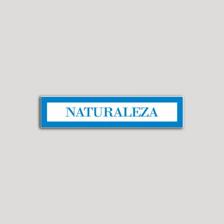 Placa distintivo Hotel - Apartamentos - Especialidad - Naturaleza.Andalucía.