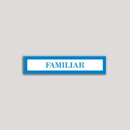 Placa distintivo Hotel - Apartamentos - Especialidad - Familiar.Andalucía.