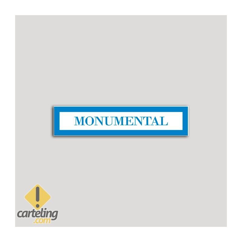 Placa distintivo Hotel - Apartamentos - Especialidad - Monumental.Andalucía.