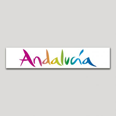 Placa distintivo Turismo y punto de Información.Andalucía
