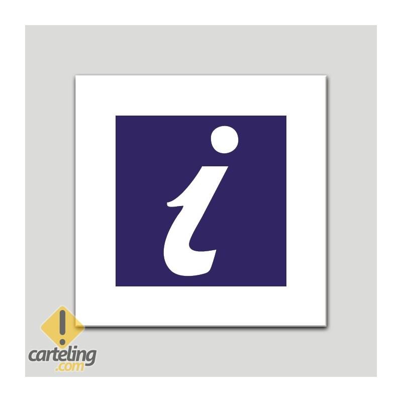 Placa distintivo Turismo y punto de Información-socio. Andalucía