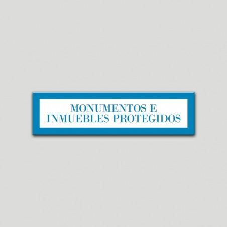 Placa distintivo Apartamento turístico- Especialidad - Monumentos e inmuebles protegidos.Andalucía.