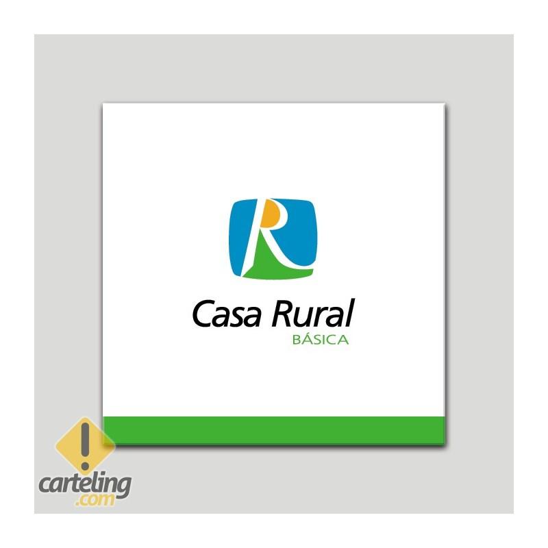Placa distintivo - Casa Rural Básica - Andalucía