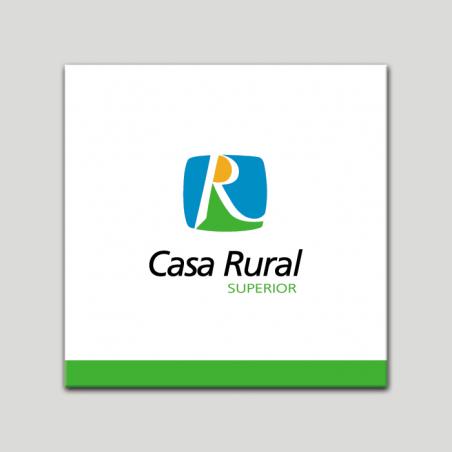 Placa distintivo - Casa Rural Superior - Andalucía