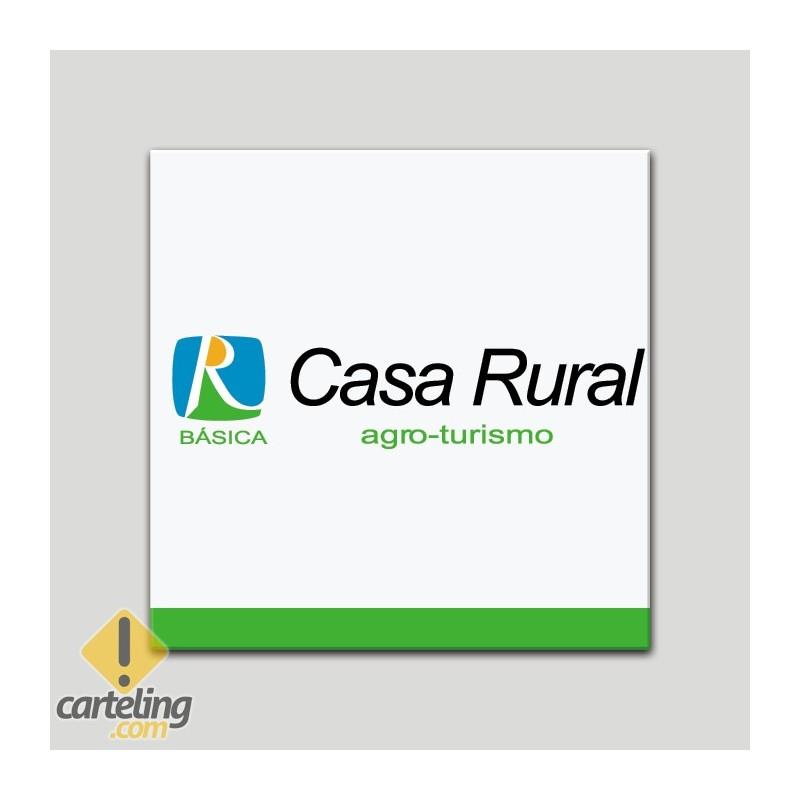 Placa distintivo - Casa Rural Agro-turismo - Básica - Andalucía
