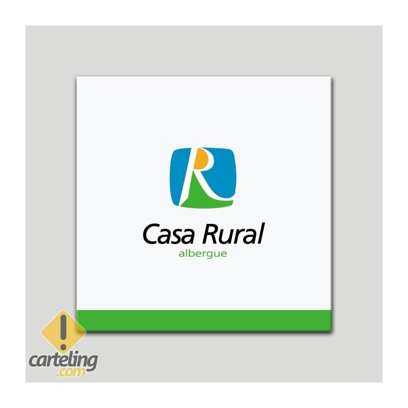 Placa distintivo - Casa Rural - Albergue - Andalucía