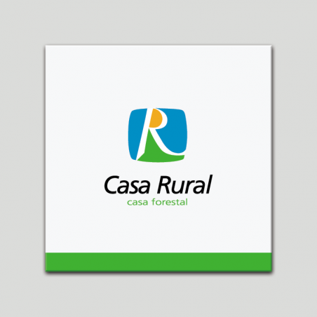 Placa distintivo - Casa Rural - Casa Forestal - Andalucía