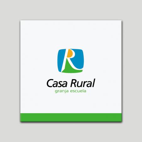 Placa distintivo - Casa Rural - Granja Escuela - Andalucía