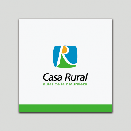 Placa distintivo - Casa Rural -  Aulas de la Naturaleza - Andalucía