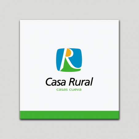 Placa distintivo - Casa Rural - Casas Cuevas- Andalucía
