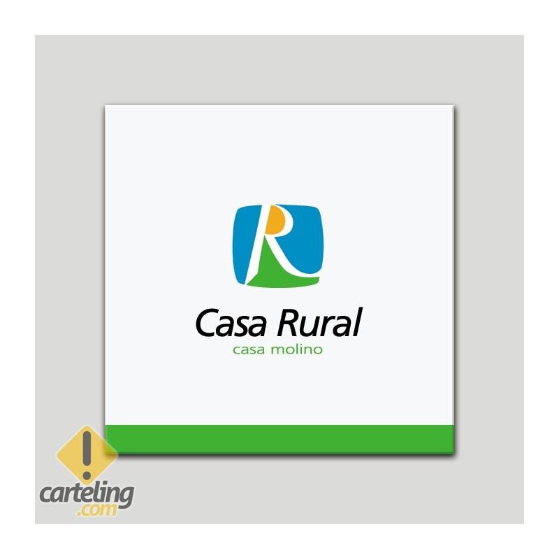 Placa distintivo - Casa Rural - Casa Molino - Andalucía