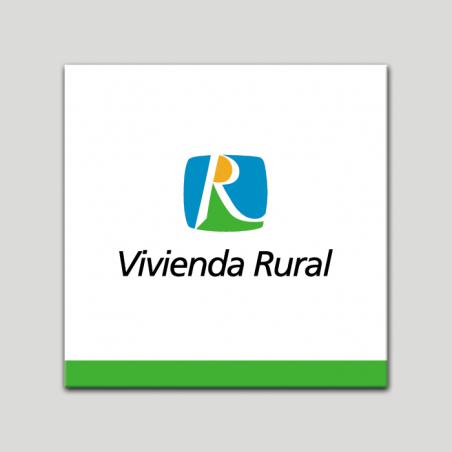 Placa distintivo - Vivienda Rural - Andalucía