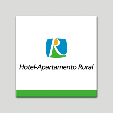 Placa distintivo - Hotel Apartamento Rural - Andalucía