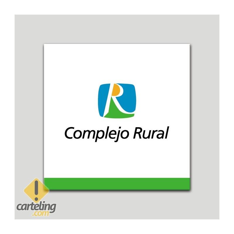 Placa distintivo - Complejo Rural - Andalucía