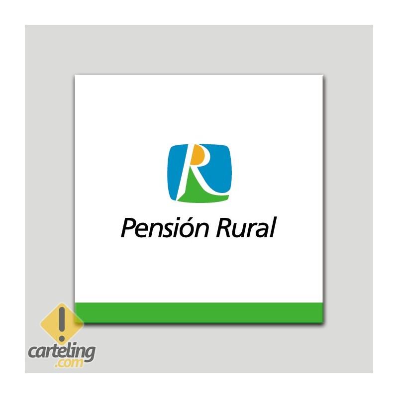 Placa distintivo - Pensión Rural - Andalucía