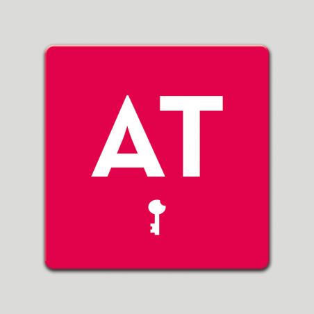 Placa distintivo - Apartamento turistico - Una llave- Castilla y la Mancha