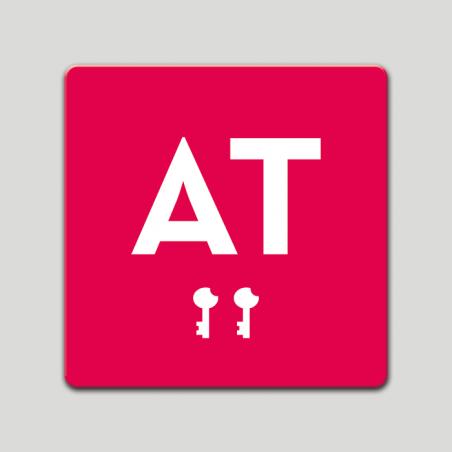 Placa distintivo - Apartamento turistico - Dos llaves- Castilla y la Mancha