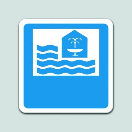 Placa distintivo Motel - Galicia