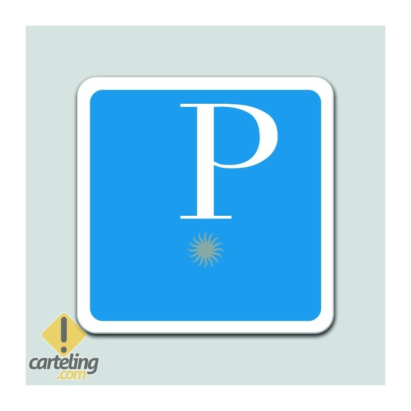 Placa distintivo Pensión una estrella - Galicia