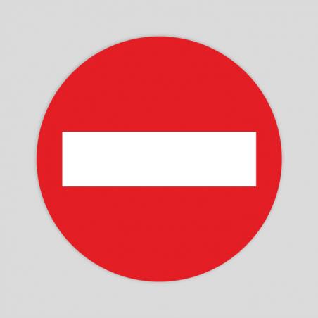Keep safe distance  (Rough sticker)