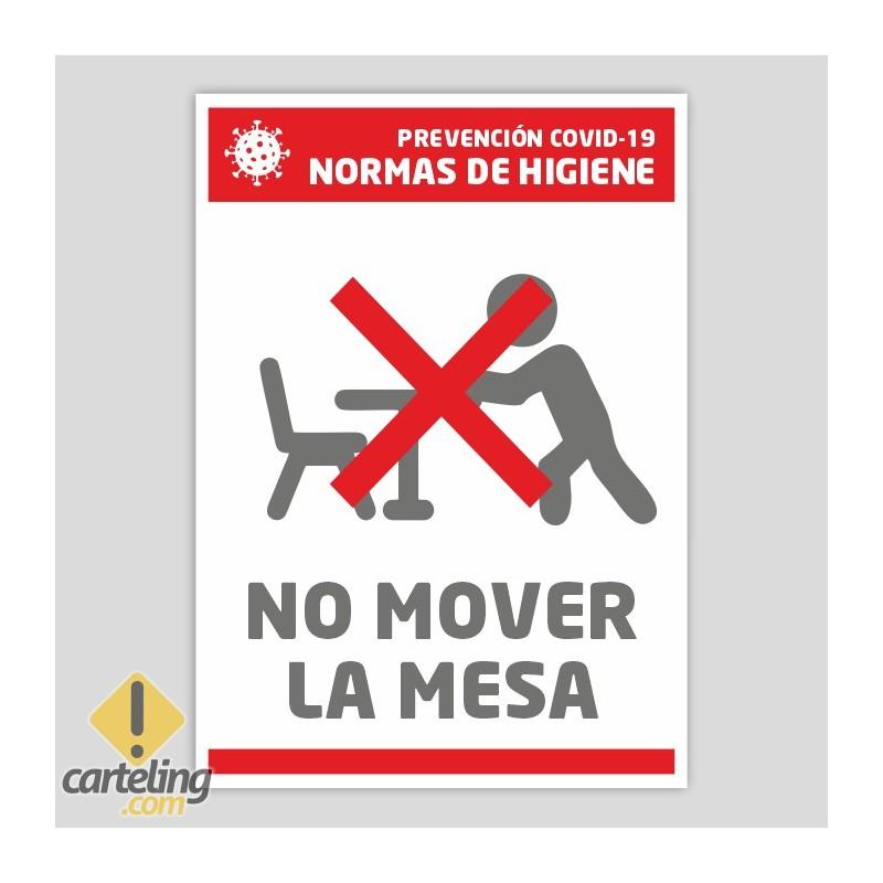 No usar (Normas de higiene)