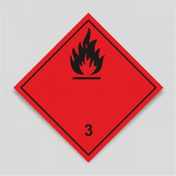 Perill de classe 3 Líquids inflamables