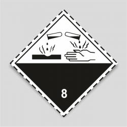 Peligro de clase 8 Materias corrosivas