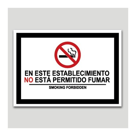 En aquest establiment no és permès fumar