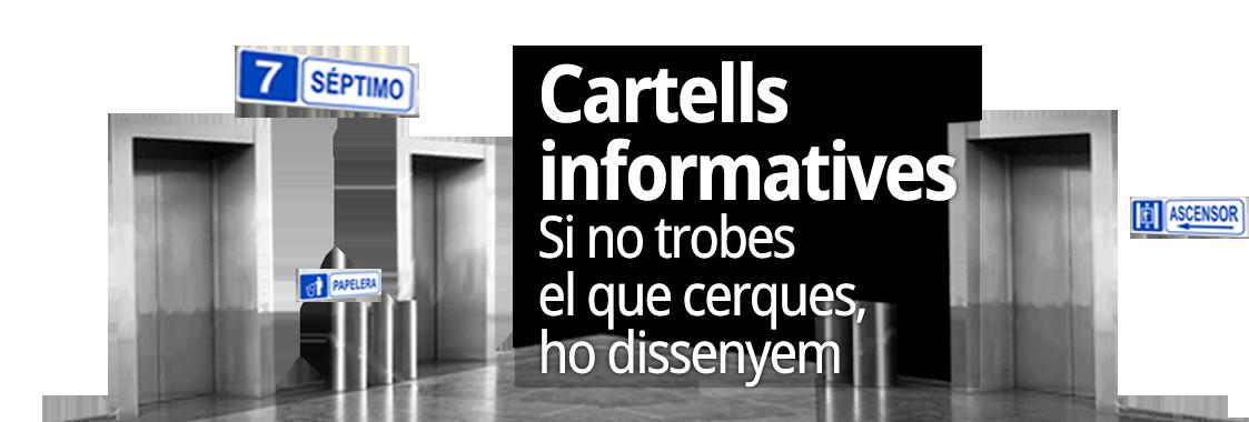 Cartells informatius